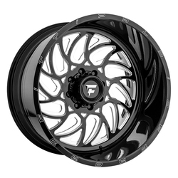 Fittipaldi Offroad Wheels FTF09 Alpha - Black Milled Rim