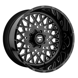 Fittipaldi Offroad Wheels FTF10 Alpha - Black Milled Rim