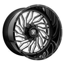 Fittipaldi Offroad Wheels FTF13 Alpha - Black Milled Rim