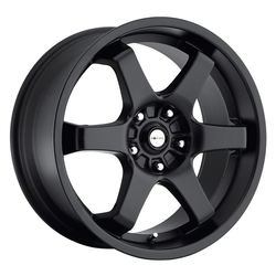 Focal Wheels 421 X - Satin Black Rim - 15x6.5