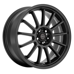 Focal Wheels 446 F-13 - Satin Black with Satin Clear-Coat Rim