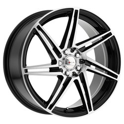 Focal Wheels 449 F-14 - Gloss Black w/Diamond Cut Face & Clear Coat Rim