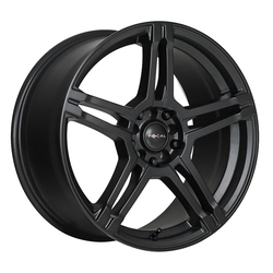 Focal Wheels 451 F-51 - Satin Black w/Satin Clear-Coat Rim
