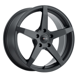 Focal Wheels 455 F-55 - Satin Black w/Satin Clear Coat Rim