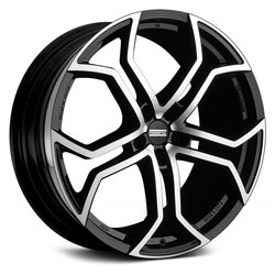 Fondmetal Wheels 185MB 9XR - Gloss Black Machined