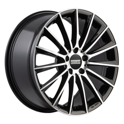 Fondmetal Wheels 195MB Aidon - Gloss Black Machined Rim - 19x9