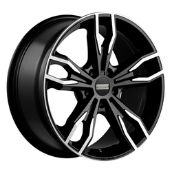 Fondmetal Wheels 193MB Alke - Gloss Black Machined Rim - 19x9