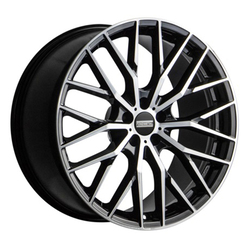 Fondmetal Wheels 196MB Makhai - Gloss Black Machined Rim - 21x9