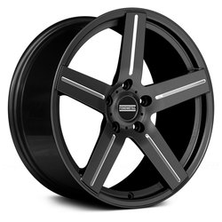 Fondmetal Wheels 187BM STC-1C - Black Milled Rim - 22x11