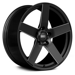 Fondmetal Wheels 188BM STC-2C - Black Milled Rim - 22x11