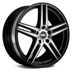 Fondmetal Wheels 180MB STC-05 - Gloss Black Machined