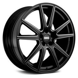 Fondmetal Wheels 182BM STC-10 - Gloss Black Milled - 22x11