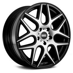 Fondmetal Wheels 181MB STC-MS - Gloss Black Machined
