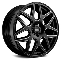 Fondmetal Wheels 181BM STC-MS - Gloss Black Milled