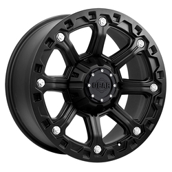Gear Alloy Wheels 718B Blackjack - Carbon Black - 16x8