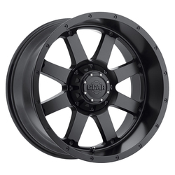 Gear Offroad Wheels 726B Big Block - Satin Black Rim - 18x9