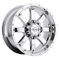 Gear Alloy Wheels 726C Big Block - Chrome - 22x12
