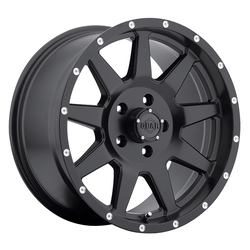 Gear Alloy Wheels 728B Overdrive - Satin Black