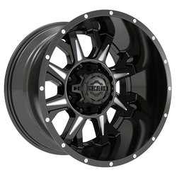 Gear Offroad Wheels 742BM Kickstand - Gloss Black w/CNC Milled Accents Rim
