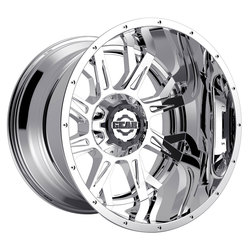 Gear Offroad Wheels 742C Kickstand - Chrome Rim
