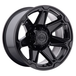 Gear Alloy Wheels 745B Trident - Gloss Black