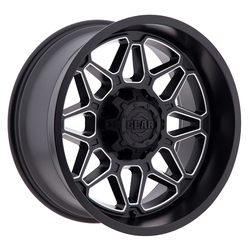 Gear Offroad Wheels 746BM Crossbow - Satin Black w/ CNC Milled Accents Rim