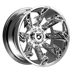 Gear Alloy Wheels 752C Slayer - Chrome