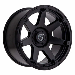 Gear Offroad Wheels Gear Offroad Wheels 753SB Barricade - Satin Black - 17x9
