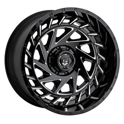 Gear Offroad Wheels 755BM - Gloss Black w/Milled Accents Rim