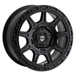 Gear Offroad Wheels 758SB - Satin Black Rim