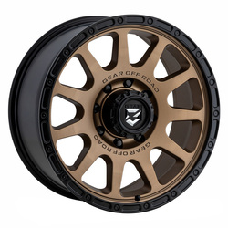 Gear Offroad Wheels 760BZ - Satin Bronze Rim - 17x8.5