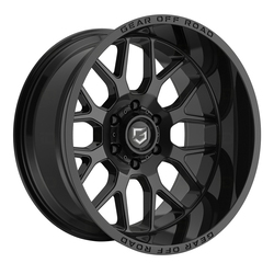 Gear Offroad Wheels 763B Raid - Black Rim