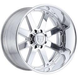 Gear Alloy Wheels F70P2 Forged - Polished - 22x12