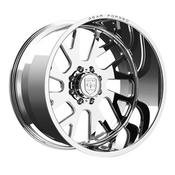 Gear Alloy Wheels F71P1 Forged - Polished - 22x12