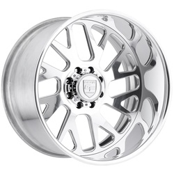 Gear Alloy Wheels F71P2 Forged - Polished - 22x12
