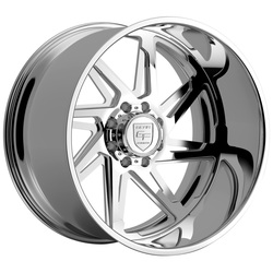 Gear Alloy Wheels F72P2 Forged - Polished - 24x14