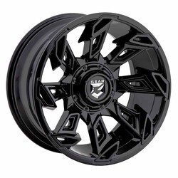 Gear Alloy Wheels 752B Slayer - Gloss Black