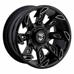 Gear Alloy Wheels 752BM Slayer - Gloss Black / Milled