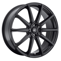ICW Racing Wheels 215B Banshee - Satin Black Rim - 18x7.5