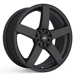 ICW Racing Wheels 216B Mach 5 - Satin Black Rim - 16x7.5