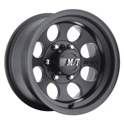 Mickey Thompson Wheels Classic III Black - Satin Black Rim