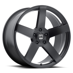Motiv Wheels 416BU Monterey - Satin Black w/ Mirror Machined Undercut Rim