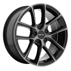 Motiv Wheels 420MBDT Murano - Gloss Black w/ Machined Face and Dark Tint Rim