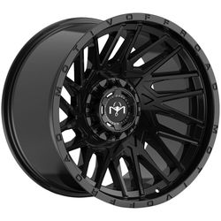 Motiv Wheels 424B Mutant - Gloss Black Rim