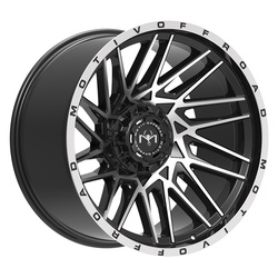 Motiv Wheels 424MB Mutant - Gloss Black w/ Machined Face Rim