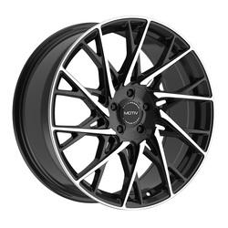 Motiv Wheels 430MB Maestro - Machined Black Rim
