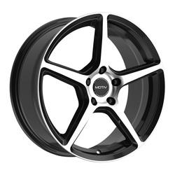 Motiv Wheels 433MB Blade - Machined Black Rim