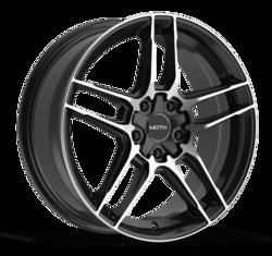 Motiv Wheels 434B - Machined Black Rim