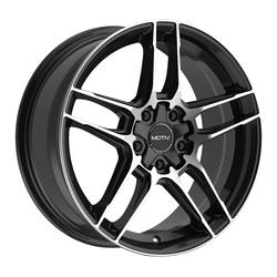 Motiv Wheels 434MB Matic - Machined Black Rim