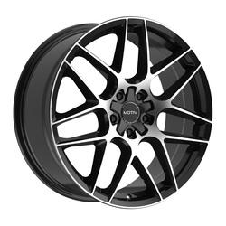 Motiv Wheels 435MB Foil - Machined Black Rim